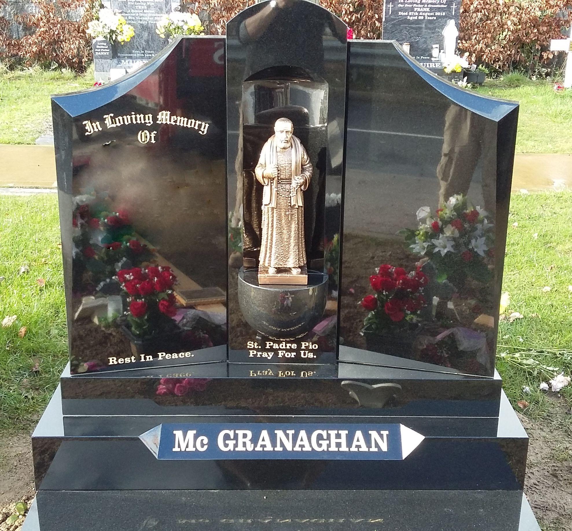 Double Wing Grotto Devlin Memorials Headstones Donegal