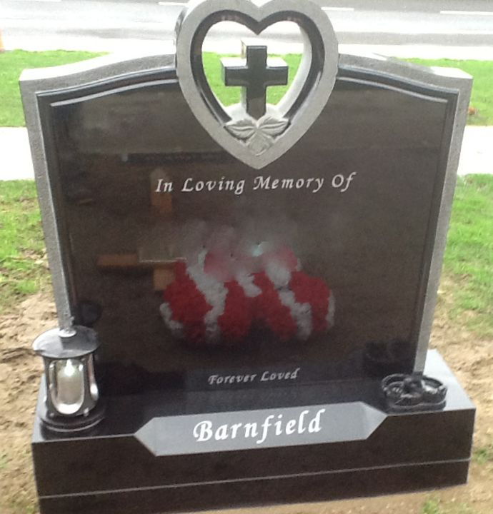 Cross In Heart With Claddagh Ring Devlin Memorials